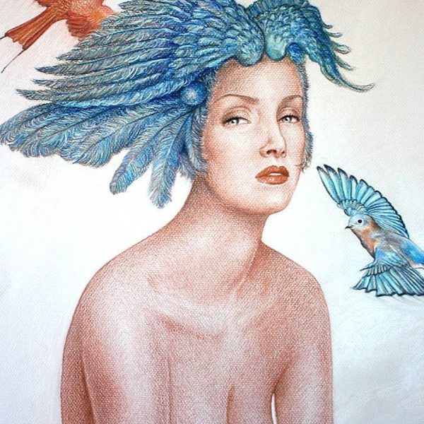 Miriam Tritto, Air pastels drawing illustration