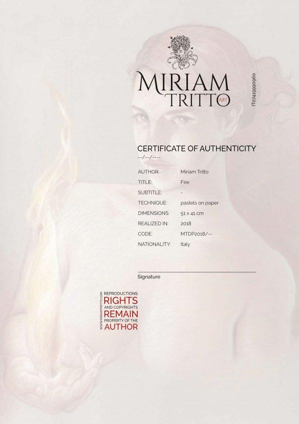 Miriam Tritto Fire Certificate